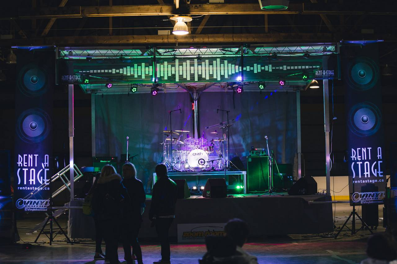 Rent a Stage - York Simcoe Youth Music Festival - Bradford
