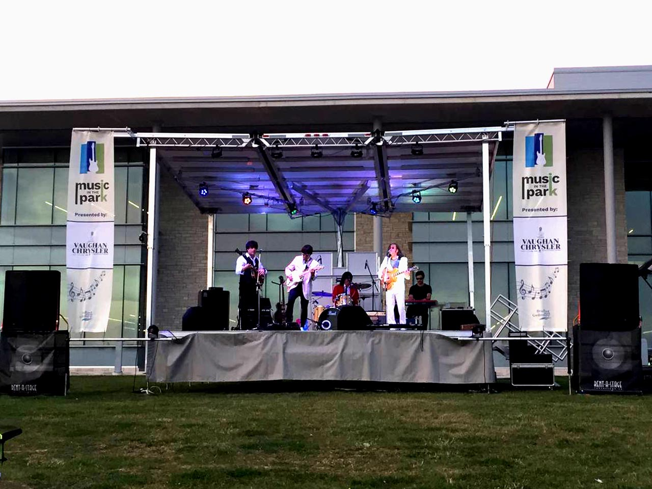 Rent a Stage SL50 - Music in the Park in Bradford