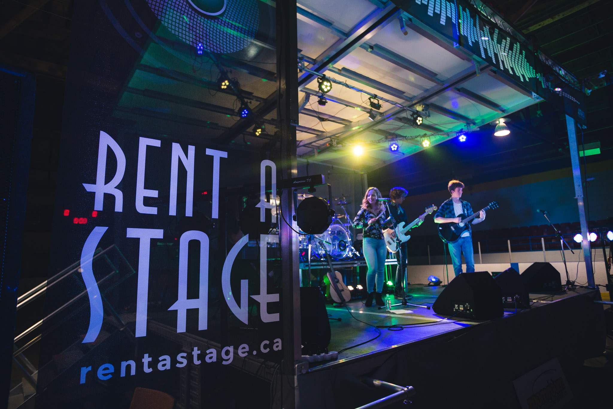 Rent a Stage SL50 - York Simcoe Youth Music Festival