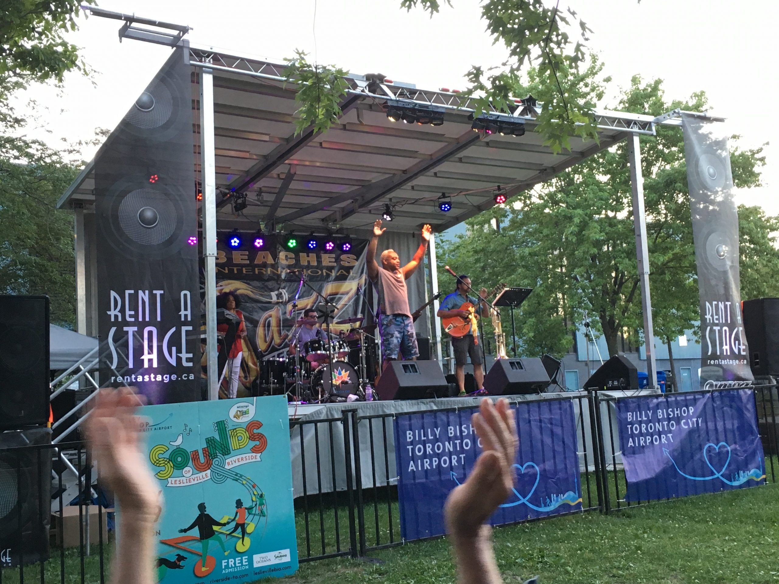 Rent a Stage SL50 - Sounds of Leslieville and Riverside - Toronto