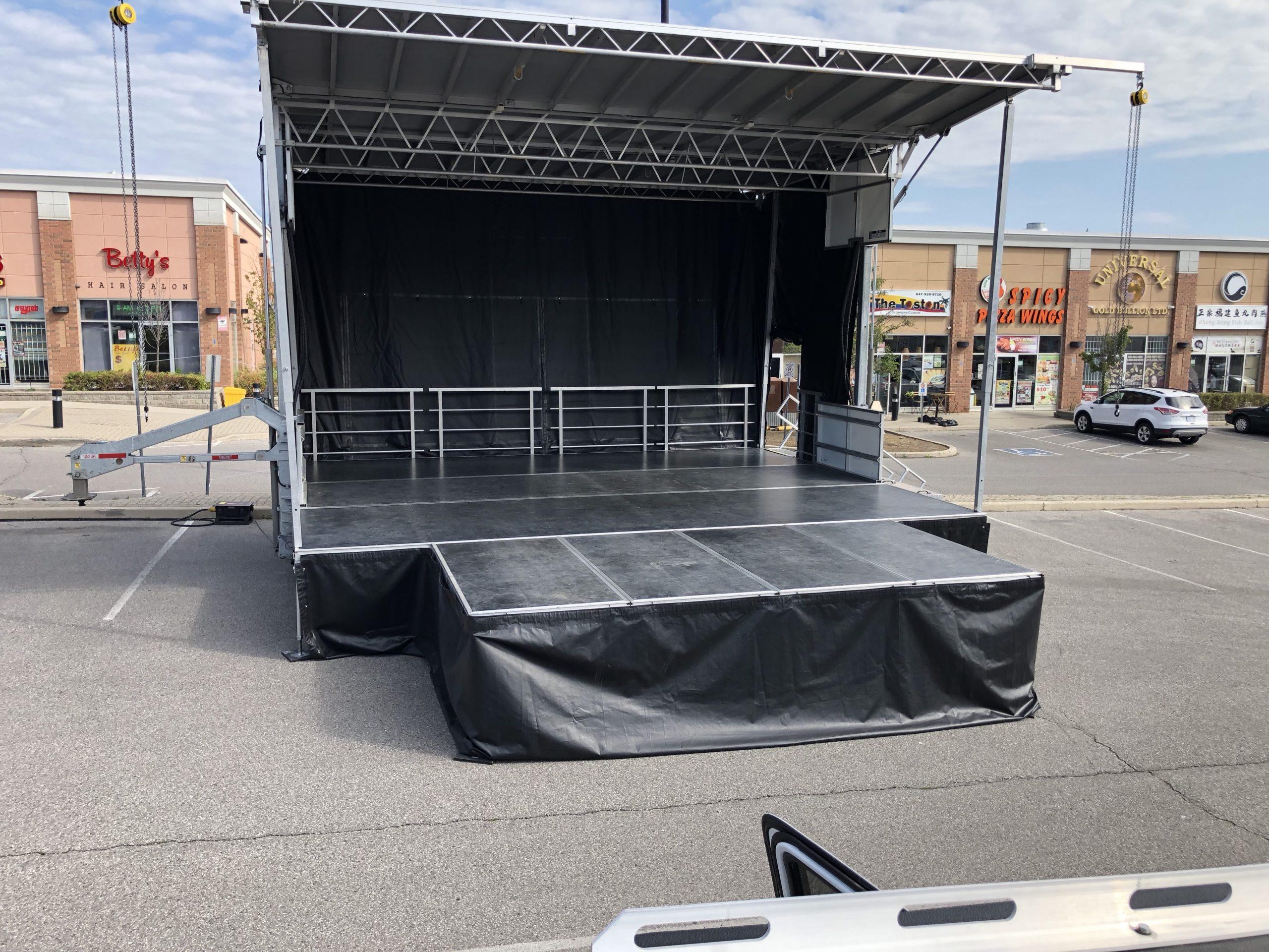 Rent a Stage SL100 Markham Cultural Festival